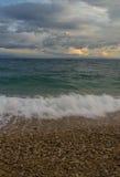 Adriatische Meereswellen Lizenzfreie Stockbilder