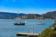 Adriatische Mittelmeerküstenlinie 1 Lizenzfreies Stockfoto