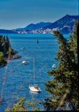 Adriatische Mittelmeerküstenlinie 1 Lizenzfreie Stockfotografie