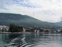 Adriatische overzees, Montenegro Royalty-vrije Stock Afbeelding