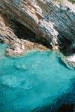 Adriatische overzees, Montenegro De textuur van het water royalty-vrije stock afbeeldingen