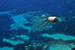 Adriatische Overzees waterachtergrond royalty-vrije stock foto's