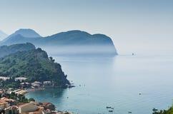 Adriatische overzeese kust royalty-vrije stock fotografie