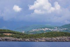 Adriatische Seeküste Lizenzfreie Stockfotos