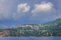 Adriatische Seeküste Lizenzfreies Stockbild