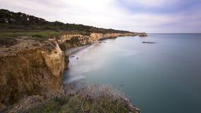 Adriatische Seeküste Lizenzfreies Stockfoto