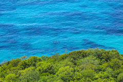 Adriatische Seeküste in Budvan Riviera, Montenegro Stockfotos