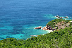 Adriatische Seeküste, Montenegro Stockbilder