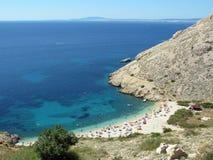 Adriatische Sommerrücksortierung Lizenzfreie Stockfotografie