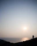 Adriatische Sonne Stockfotografie