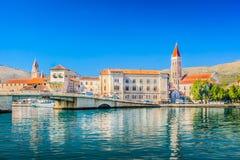 Adriatische Stadt Trogir Stockbild