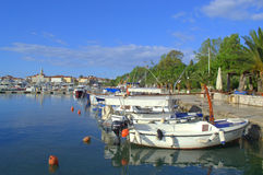 Adriatische Stadtschöne Ansicht Stockbilder