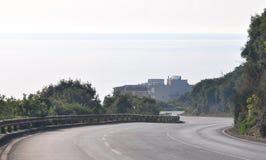 Adriatische Straße Lizenzfreies Stockfoto