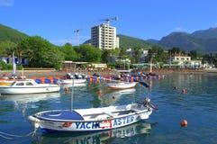Adriatische Strandansicht Lizenzfreies Stockbild