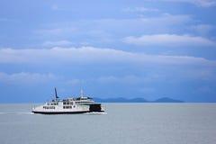 Adriatische vuurtoren stock fotografie