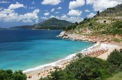 Adriatische zeekust royalty-vrije stock fotografie