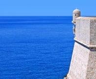 Adriatische zegen Stock Afbeelding