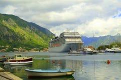 Adriatischer Hafen, Kotor Montenegro Lizenzfreies Stockbild