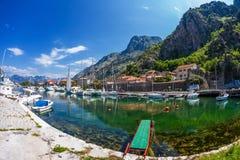 Adriatischer Kanal Lizenzfreie Stockbilder