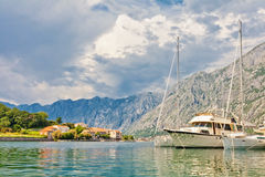 Adriatischer Kanal Lizenzfreies Stockfoto