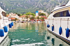 Adriatischer Kanal Lizenzfreies Stockbild