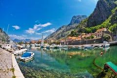 Adriatischer Kanal Stockbild