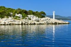 Adriatischer Leuchtturm Lizenzfreies Stockfoto