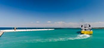 Adriatischer Leuchtturm Stockfotos