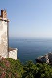 Adriatischer Meerblick Stockfotografie