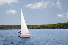 Adriatischer Meerblick Stockfoto
