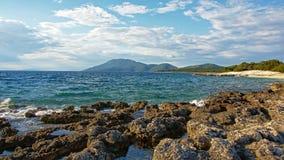 Adriatischer Meerblick Stockbilder
