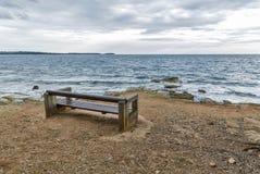 Adriatischer Meerblick in Istria, Kroatien Lizenzfreies Stockbild