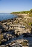 Adriatischer Schacht Stockfoto