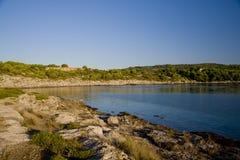 Adriatischer Schacht Stockbild