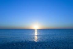 Adriatischer Sonnenaufgang Stockfotos