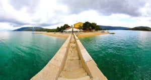 Adriatischer Umhang Stockfotos