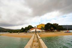Adriatischer Umhang Stockbild