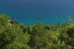Adriatisches Costline Brela Lizenzfreies Stockfoto