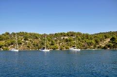 Adriatisches Meer. Lizenzfreie Stockfotos