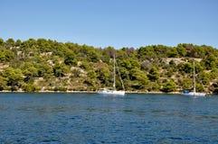 Adriatisches Meer. Stockfotografie