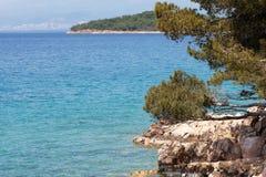 Adriatisches Meer Stockfoto
