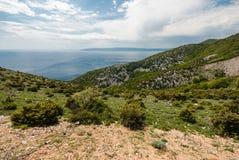 Adriatisches Meer, Cres-Insel, Kroatien Lizenzfreies Stockfoto