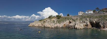 Adriatisches Meer der Felsen Lizenzfreie Stockfotos