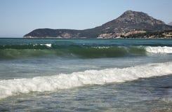 Adriatisches Meer in der Stange montenegro Stockfotos