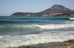 Adriatisches Meer in der Stange montenegro Lizenzfreie Stockbilder