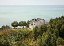Adriatisches Meer in Durres albanien Lizenzfreies Stockfoto