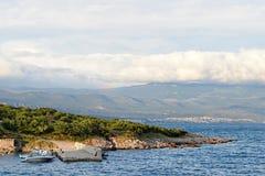 Adriatisches Meer, Insel von Krk, Kroatien Lizenzfreie Stockfotografie