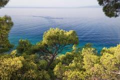 Adriatisches Meer Kroatien Lizenzfreie Stockfotografie