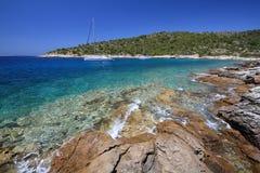 Adriatisches Meer, Kroatien Lizenzfreies Stockbild