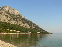 Adriatisches Meer in Kroatien Lizenzfreie Stockfotografie